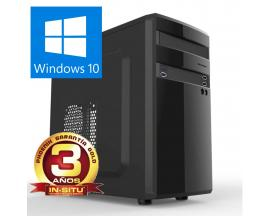 Ordenador pc phoenix home intel celeron 4gb ddr4 1tb  rw windows 10 micro atx  sobremesa