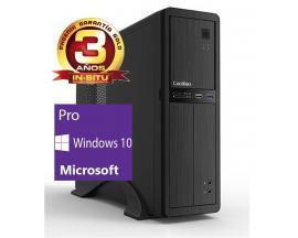 Ordenador de oficina phoenix oberon pro intel core i3 6º gen 4gb ddr4 500 gb rw micro atx slim windows 10 profesional pc sobreme
