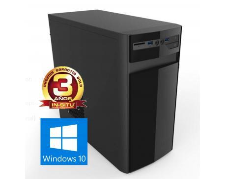 Ordenador pc phoenix zenit amd ryzen 5 8gb ddr4 1tb rw micro atx sobremesa windows 10 - Imagen 1
