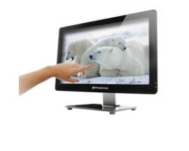 Barebone all in one tactil oem pantalla led 21.5''slim usb hd audio lector memoria webcam fuente 150w