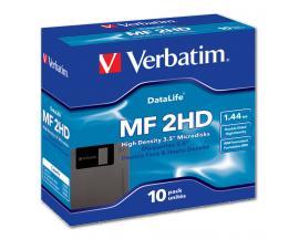 "- VERBATIM 3,5"" 1,44 Mb. Pack 10Disquete VERBATIM 3,5"" 1,44 Mb. DS/HD Pack 10 Unidades"