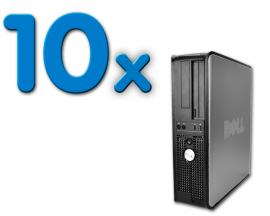 Dell Optiplex GX760 SD Pack 10Intel Core 2 Duo E8400 3 GHz. · 4 Gb. DDR2 RAM · 160 Gb. SATA · DVD · COA Windows 7 Profession