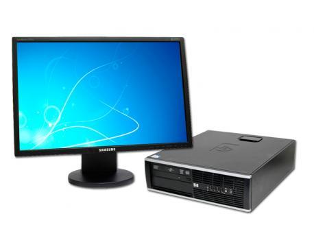 HP 8100 Elite SFF i5 + TFT 20''Intel Core i5 660 3.2 GHz. · 8 Gb. DDR3 RAM · 250 Gb. SATA · DVD · COA Windows 7 Professional