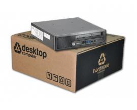 HP EliteDesk 800 G1 USDT Intel Core i5 4570s 2.9 GHz. · 8 Gb. DDR3 RAM · 500 Gb. SATA · DVD · COA Windows 7 Professional - Image