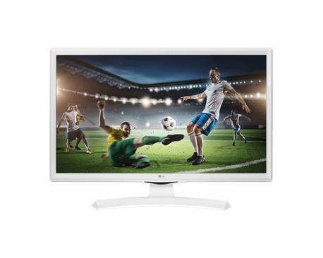 "Monitor tv led lg 24"" 24mt49vw 1366 x 768 / 5ms / tdt / hdmi / usb / blanco - Imagen 1"