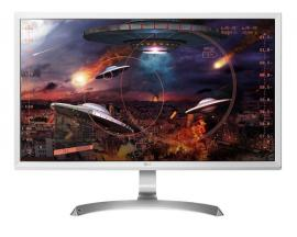 "Monitor led 4k lg ips 27"" 27ud59-w 3840x2160 / 5ms / hdmi x2 / displayport / blanco - Imagen 1"