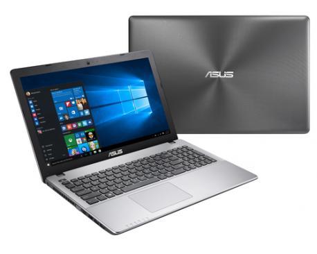 """ASUS R510VX-DM528T 2.8GHz i7-7700HQ 15.6"""" 1920 x 1080Pixeles Gris Portátil - Imagen 1"""