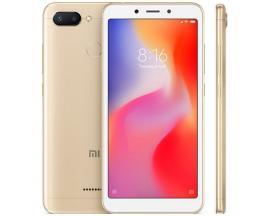 "Telefono movil smartphone xiaomi redmi 6 gold 5.45"" 18:9 / 32gb rom/ 3gb ram/ octa core/ 12+5mpx - 5mpx/ 4g/ sensor huella - Ima"