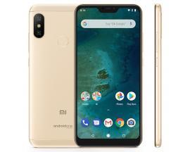 "Telefono movil smartphone xiaomi mi a2 lite gold / 5.84"" / 64gb rom / 4gb ram / octa core / 12+5mpx - 5mpx / 4g / sensor de huel"