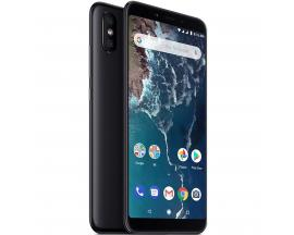 "Telefono movil smartphone xiaomi mi a2 black 5.99""/ 64gb rom/ 4gb ram/ dual camera 12+20 mpx/ camara delantera 20 mpx/ 18:9 / hu"