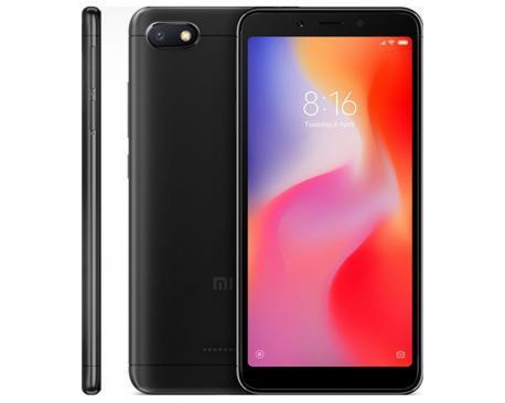 "Telefono movil smartphone xiaomi redmi 6a negro 5.45""/ 32gb rom/ 2gb ram/ 13mpx - 5mpx/ 4g - Imagen 1"