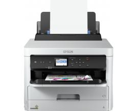 Impresora epson inyeccion color wf-c5210dw workforce pro a4/ 34ppm/ usb/ red/ wifi/ wifi direct/ duplex impresion/ adf