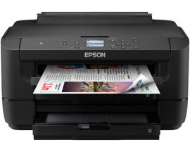 Impresora epson inyeccion color wf-7210dtw a3/ 32ppm/ usb/ red/ wifi/ wifi direct/ nfc/ duplex impresion/ dos bandejas a3