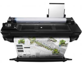 "Plotter hp designjet t520 a1 24""/ 2400ppp/ 1gb/ usb/ red/ wifi - Imagen 1"