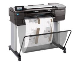 "Plotter hp designjet t830 a1 24""/ 2400ppp/ 1gb/ usb/ red/ wifi/ wifi direct - Imagen 1"