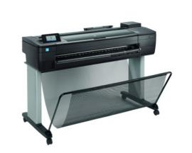 "Plotter hp designjet t730 a0 36""/ 2400ppp/ 1gb/ red/ wifi - Imagen 1"