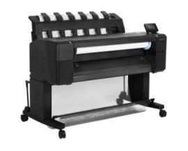 "Plotter hp designjet t930 a0 36""/ 2400ppp/ 64gb/ red - Imagen 1"