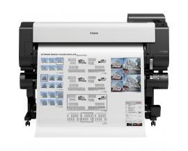 "Plotter canon tx-4000 imageprograf a1 44""/ 2400ppp/ usb/ wifi/ diseño cad/ tinta 5 colores/ tactil 3""/ doble rollo - Imagen 1"