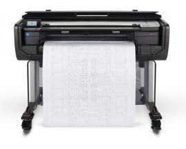 "Plotter hp designjet t830 a0 36""/ 2400ppp/ 1gb/ usb/ red/ wifi/ wifi direct - Imagen 1"