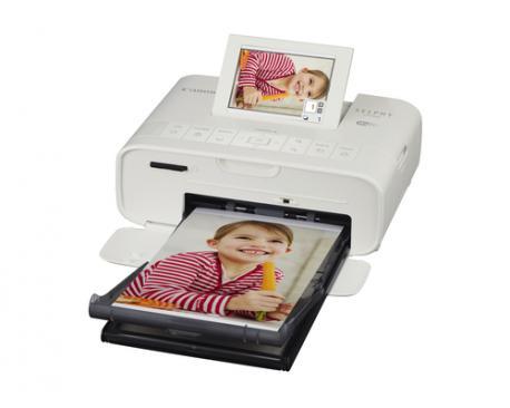 Impresora canon cp1300 sublimacion color photo selphy 300x300ppp/ wifi/ usb/ blanco - Imagen 1