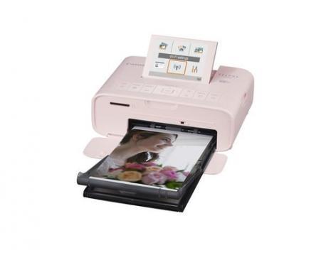 Impresora canon cp1300 sublimacion color photo selphy 300x300ppp/ wifi/ usb/ rosa - Imagen 1