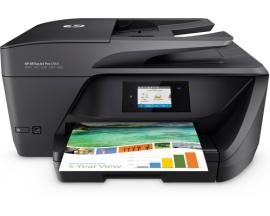 Multifuncion hp inyeccion color officejet pro 6960 fax/ a4/ 30ppm/ usb/ red/ wifi/ adf