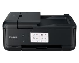 Multifuncion canon tr8550 color pixma a4/ red/ 4800ppp/ bluetooth/ pantalla tactil 7.5cm/ adf doble/ 5 tintas independientes/ wi