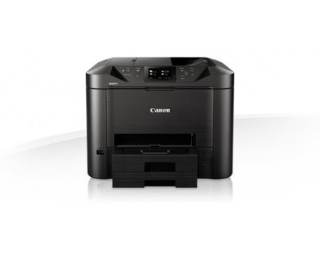 Multifuncion canon mb5450 inyeccion color maxify fax/ a4/ 24ppm/ 15ppm color/ wifi/ adf/ duplex/ tactil - Imagen 1