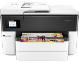 Multifuncion hp inyeccion color officejet pro 7740 aio/ fax/ a4/ 33ppm/ 1200x1200ppp/ usb/ red/ wifi/ duplex
