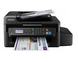 Multifuncion epson inyeccion color ecotank et-4500 fax/ a4/ 33ppm/ usb/ red/ wifi - Imagen 1