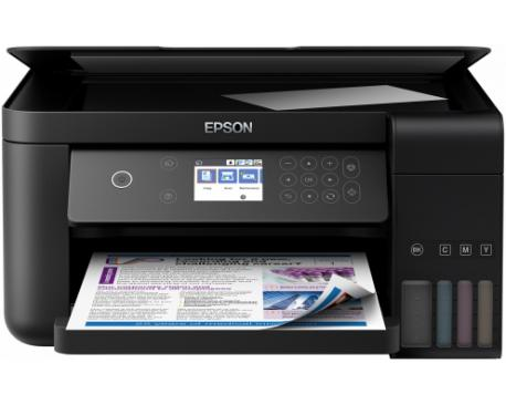 Multifuncion epson inyeccion color ecotank et-3700 a4/ 33ppm/ red/ wifi/ wifi direct/ lcd - Imagen 1