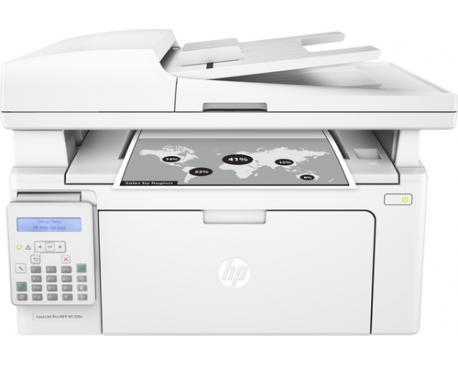 Multifuncion hp monocromo laserjet pro m130fn fax/ 22ppm / usb / red - Imagen 1