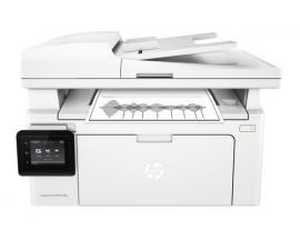 Multifuncion hp monocromo laserjet pro m130fw fax/ 22ppm / usb / red/ wifi
