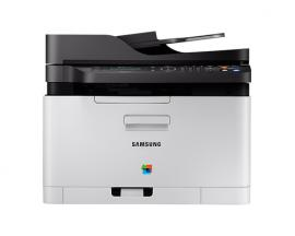 Multifuncion samsung laser monocromo sl-c480fw fax/ a4/ 18ppm/ red/ wifi/ usb 2.0/ nfc