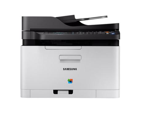 Multifuncion samsung laser monocromo sl-c480fw fax/ a4/ 18ppm/ red/ wifi/ usb 2.0/ nfc - Imagen 1
