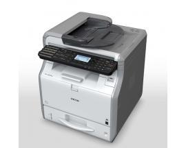 Multifuncion ricoh laser monocromo sp3610sf fax a4/ 30ppm/ 512mb/ usb/ red/ adf 35 hojas/ duplex todas las funciones/ compatible