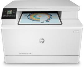 Multifuncion hp laser color laserjet pro m180n a4/ 16ppm/ usb/ red - Imagen 1