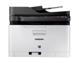 Multifuncion samsung laser color sl-c480fn/see fax/ a4/ 18ppm monocromo/ 4ppm monocromo/ 128mb/ 150 hojas/ adf/ red - Imagen 1