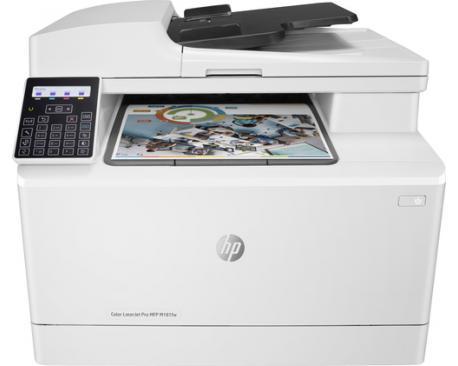 Multifuncion hp laser color laserjet pro m181fw fax/ a4/ 16ppm/ usb/ red/ wifi/ - Imagen 1