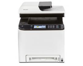 Multifuncion ricoh laser color spc261sfnw fax/ a4/ 20ppm/ 256mb/ usb/ red/ wifi/ adf 50 hojas/ duplex todas las funciones/ nfc -