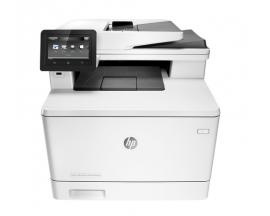 Multifuncion hp laser color laserjet pro m477fnw fax/ a4/ 27ppm/ usb/ red/ adf/ eprint/ red/ wifi