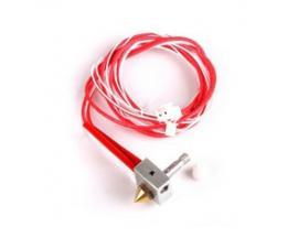 Boquilla extrusor impresora 3d colido con cables compact