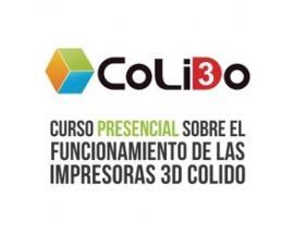Curso colectivo presencial funcionamiento impresora 3d colido
