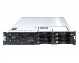 IBM Xseries X3650 Intel Xeon E5345 2.33 GHz. · 16 Gb. DDR2 ECC RAM · 4x 146 Gb. SAS 2.5'' · Combo (CD-RW/DVD) - Imagen 1