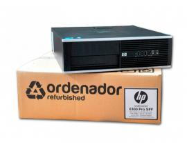 HP 6300 ProIntel Core i3 3220 3.3 GHz. · 4 Gb. DDR3 RAM · 500 Gb. SATA · DVD · COA Windows 7 Professional actualizado a Wind