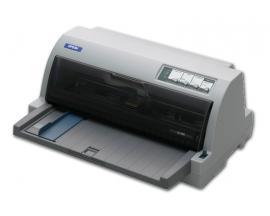 Epson LQ-630Tecnología: Matricial 24 agujas, 80 Col. - Velocidad: Hasta 300 cps/10 cpi - Resolución: 360 x 180 dpi- Papel: C