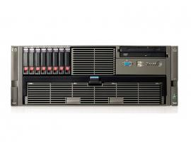 HP Proliant DL585 G2 4x AMD Opteron 2.6 GHz. · 48 Gb. DDR2 ECC RAM · 32 bahías (8 vacías ) · 2x 146 Gb. SAS 2.5'' 10000rpm · 8