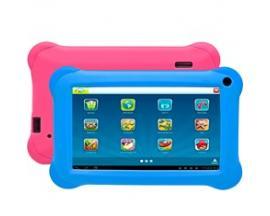 "Tablet denver 7"" / wifi / 2mpx / 16gb rom / 1 gb ram / 2400mah para niños + fundas azul y rosa - Imagen 1"