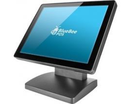 "Tpv integrado monitor 15"" tactil intel quad core j1900 4gb ddr3 hdd ssd 64gb - Imagen 1"