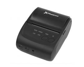 Impresora ticket 58 mm termica directa portatil phoenix phbtthermalprinter / bluetooth / usb / serial / max velocidad 80mm/ 203